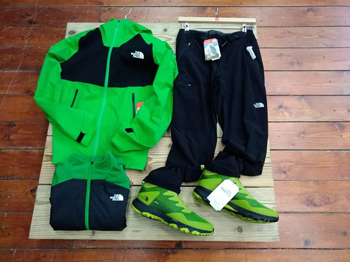 The North Face ….for light trekking