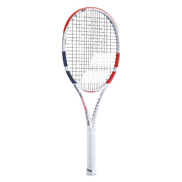 BABOLAT-PURE STRIKE 16X19-WH/RD-0