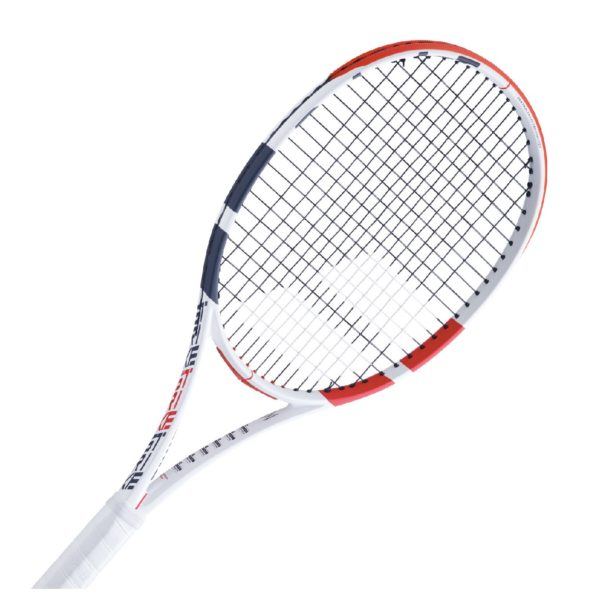 BABOLAT-PURE STRIKE 16X19-WH/RD-3