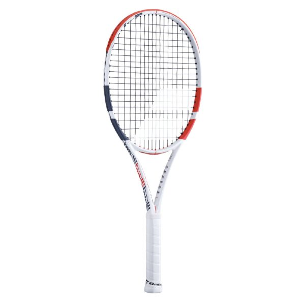 BABOLAT-PURE STRIKE 100-WH/RD-0