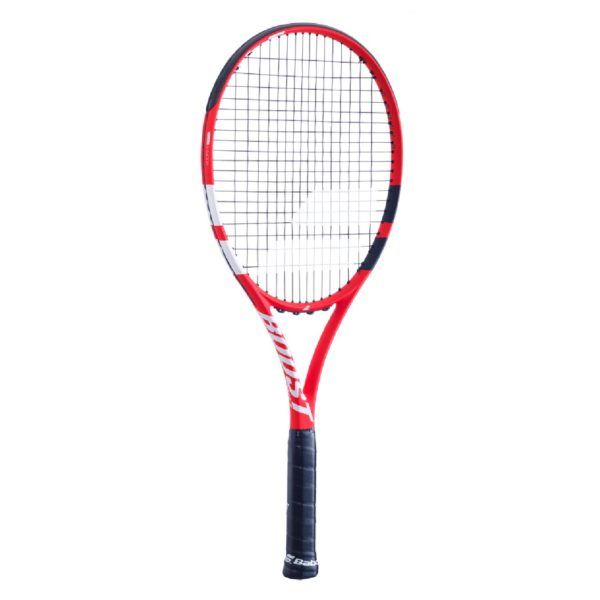 BABOLAT-BOOST S STRUNG-RD/BK/WH-0