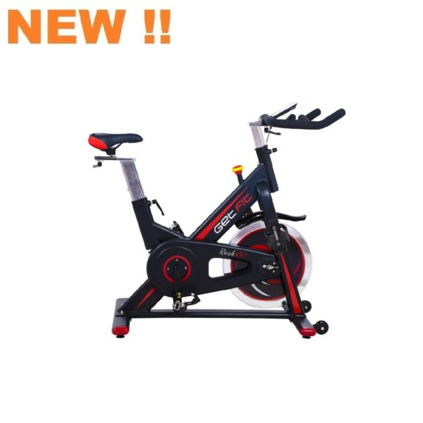 GETFIT-SPINBIKE RUSH 451-BLACK RED-0