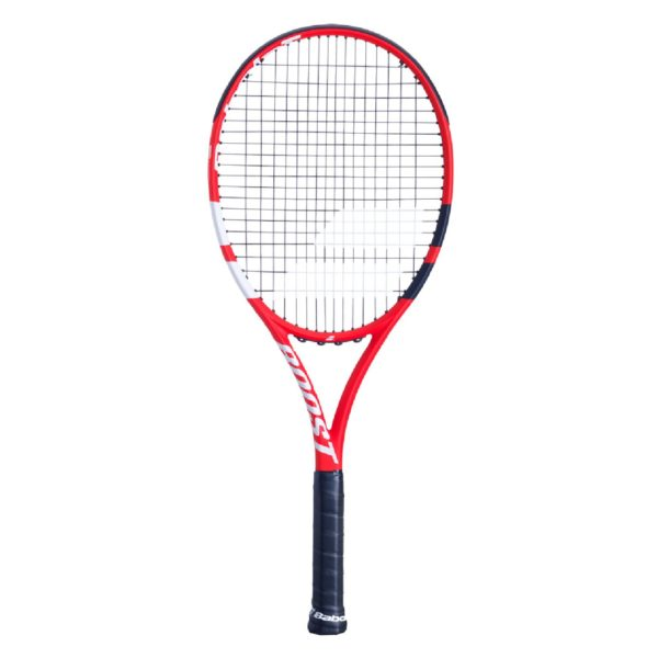 BABOLAT-BOOST S STRUNG-RD/BK/WH-3